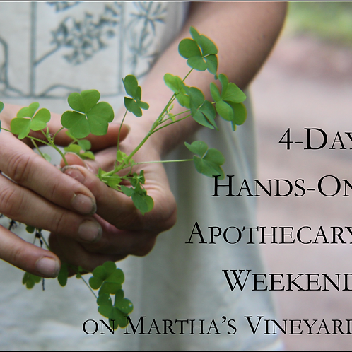 4-Day Apothecary Weekend 2018