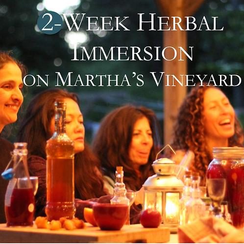 2-Week Herbal Immersion 2019 on Martha's Vineyard