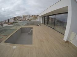 Vivienda unifamiliar aislada terraza y piscina