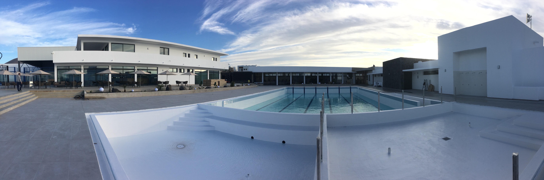 Centro deportivo zona piscina