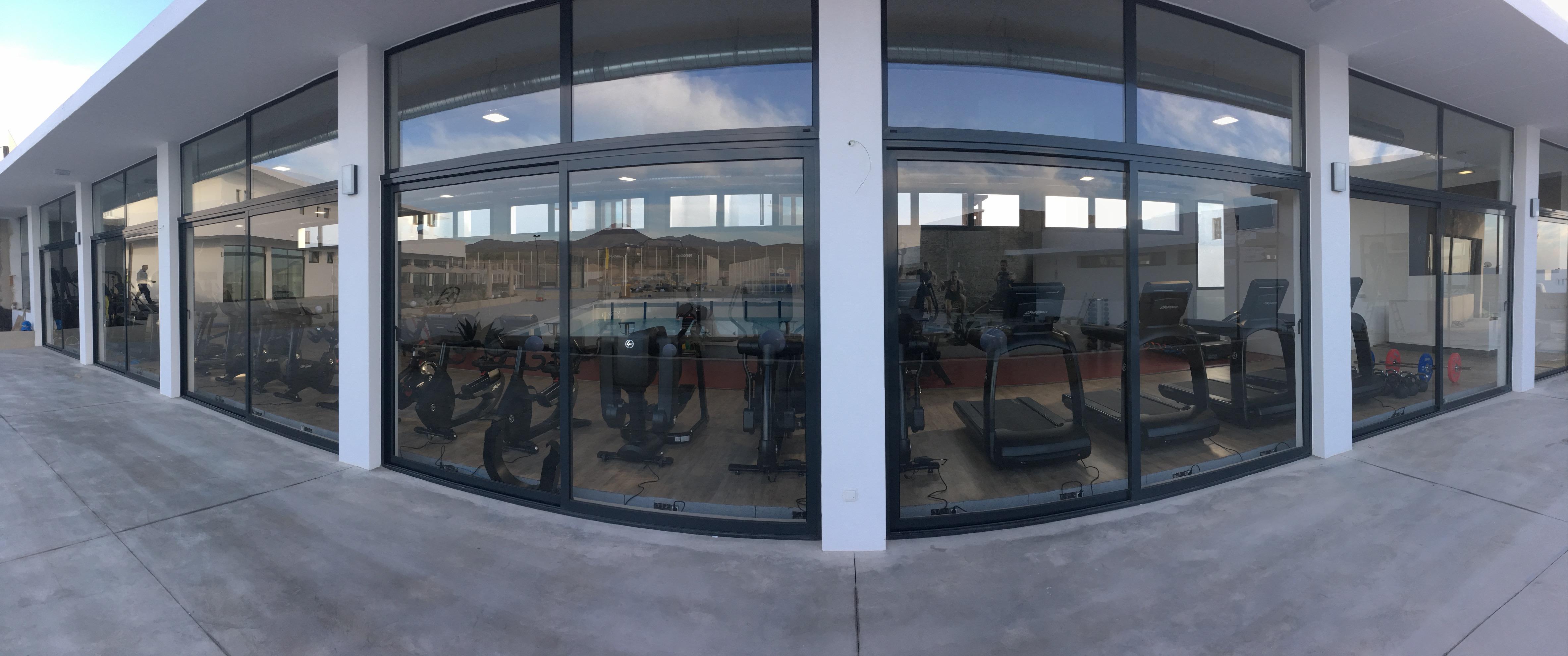 Centro deportivo zona gimnasio