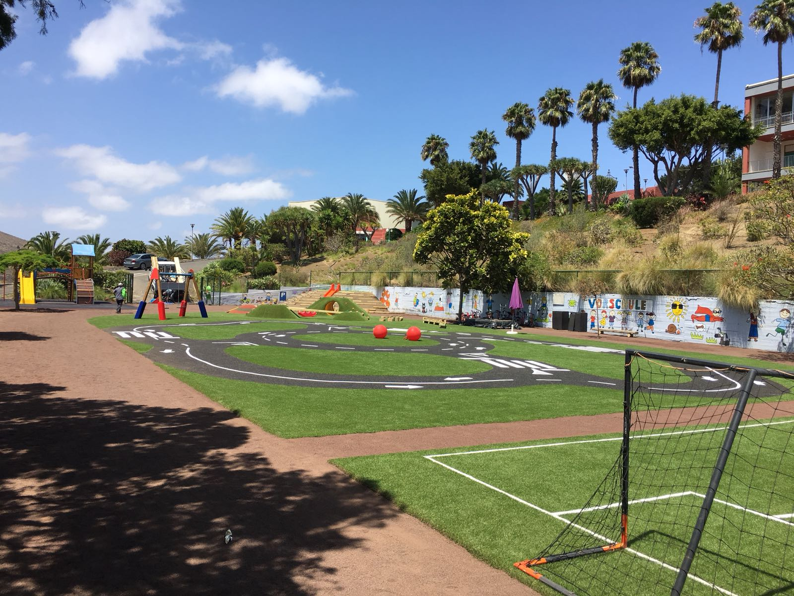 Parque infantil para colegio