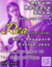 Rea Album Release - Safe and Sound