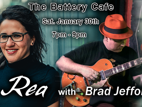 Rea with Brad Jefford @ The Battery Cafe