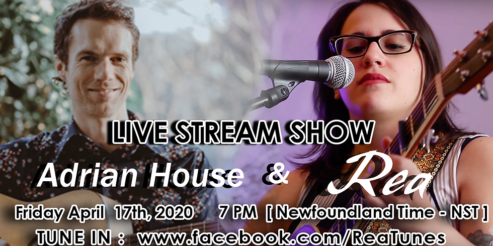 Live Stream Show with Rea and Adrian House