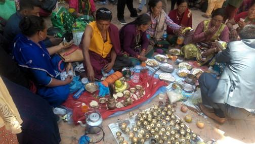 Temal Jatra on the Boudha Kora