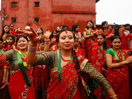 Nepal Festivals • Teej, Bishwakarma Puja and Indra Jatra