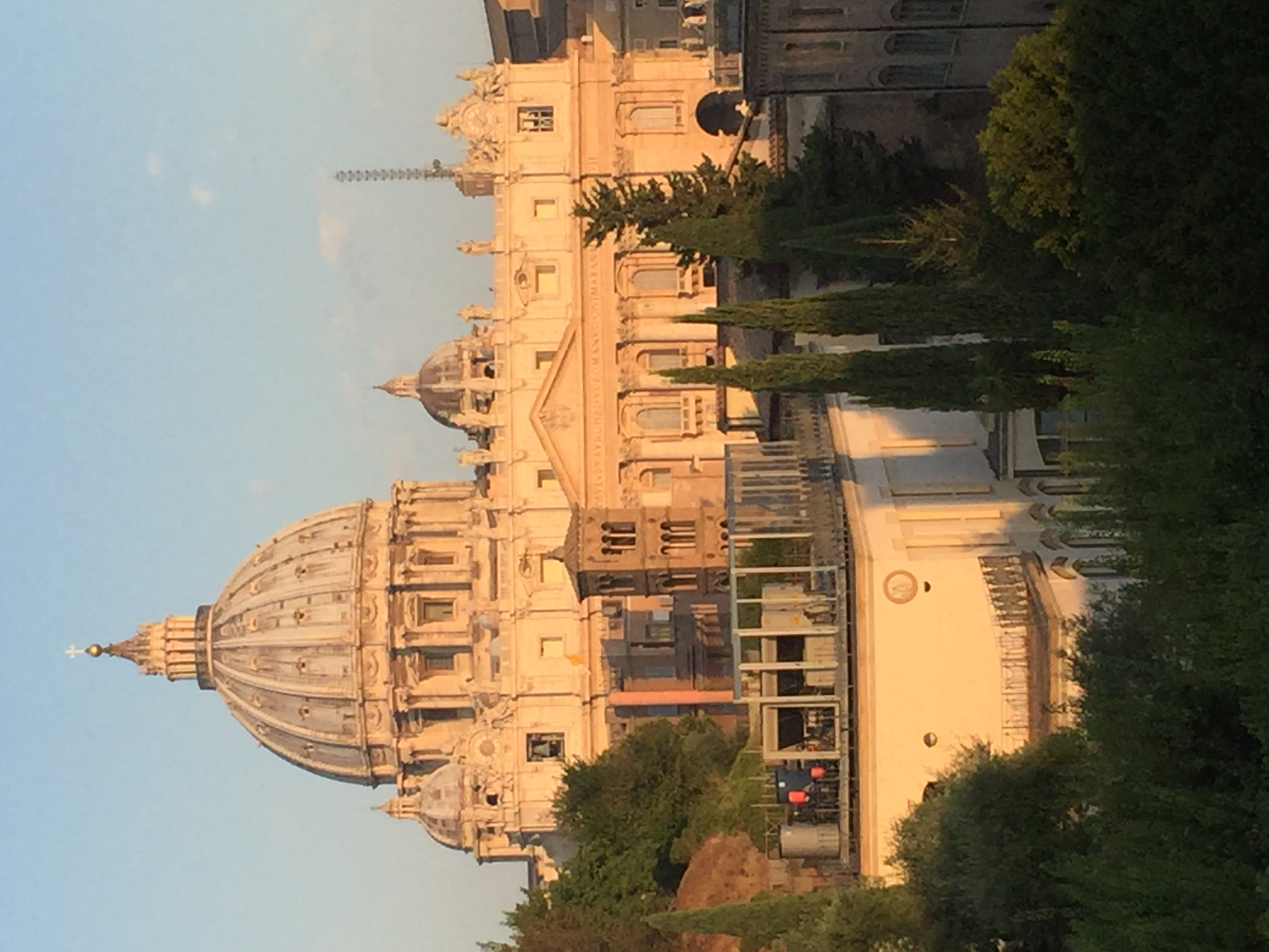 St Peter's from Jesuit Curia