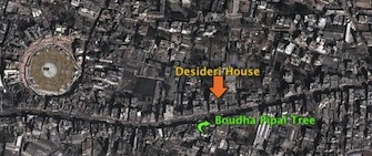 Map to Desideri House