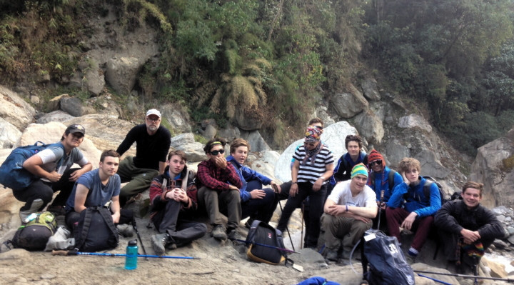 On the Ghorepani Trek