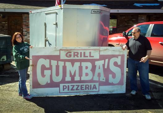 The Original Gumba's Sign