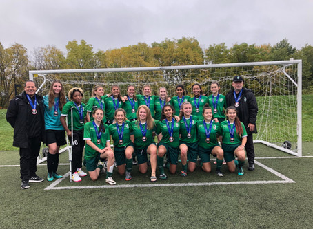 U15 Girls Win Silver at 2018 Regional League Championship Tournament in Guelph