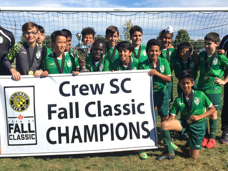 Erin Mills Soccer Club Takes Over Columbus, Ohio
