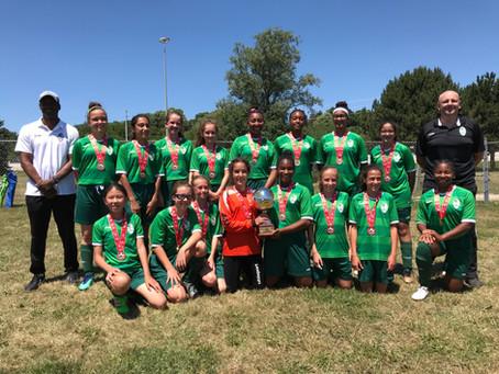 Our GU13 White team won the 2018 Annual Cambridge Heritage Soccer Tournament!
