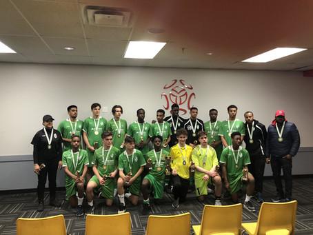 U17 Boys Win U18 Provincial Title