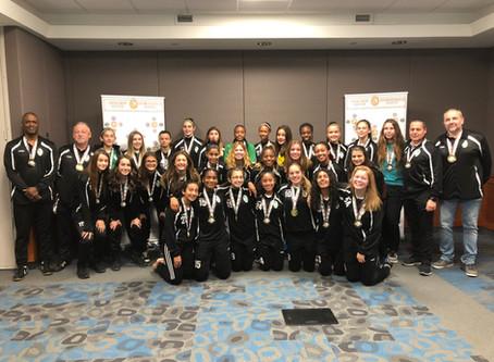 U13 & U15 Girls win GHSL Championships