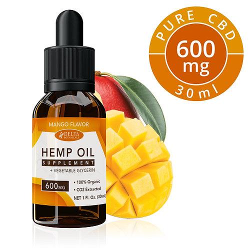 Mango CBD E Liquid - 600mg CBD | 30ml Vape Oil ejuice