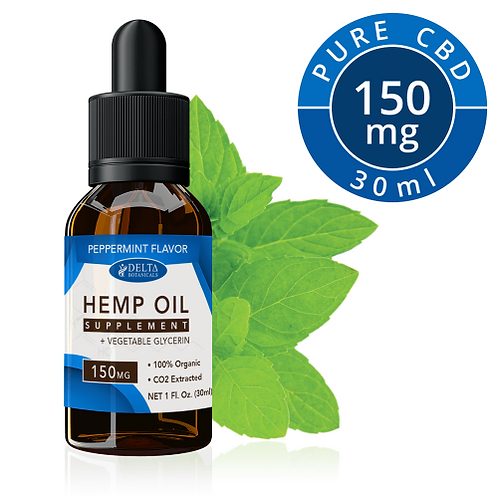 Peppermint CBD E Liquid - 150mg CBD | 30ml Vape Oil E juice