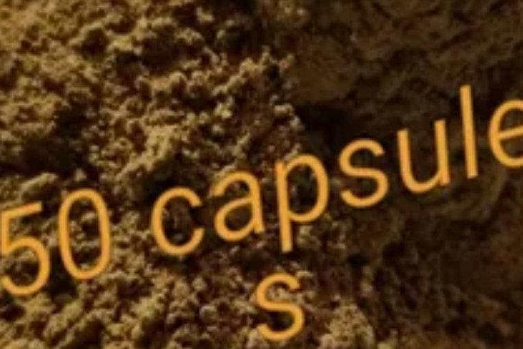 GREEN LOVE 50 KRATOM CAPSULES BLEND mitragyna speciosa