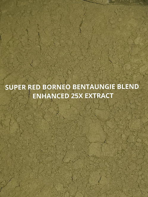 SUPER RED BORNEO BENTAUNGIE BLEND ENHANCED 25X EXTRACT 1oz Kratom Powder