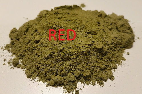 RED BALANCED BLEND KRATOM POWDER (125 grams) MITRAGYNA SPECIOSA