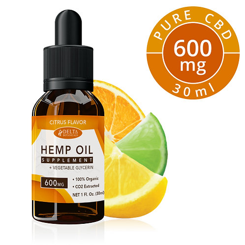 Citrus Fruits CBD E Liquid - 600mg CBD | 30ml Vape Oil