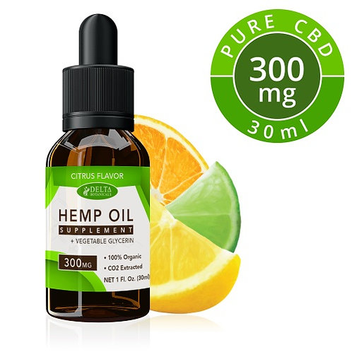 Citrus Fruits CBD E Liquid - 300mg CBD | 30ml Vape Juice