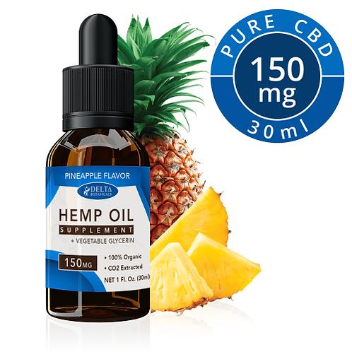Pineapple CBD E Liquid - 150mg CBD | 30ml Vape Juice