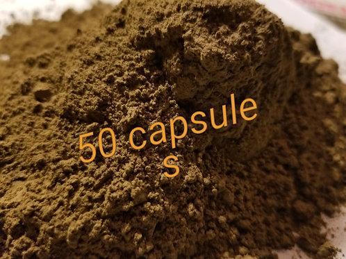 50 capsules White Golden Sky Kratom Blend (mitragyna speciosa)