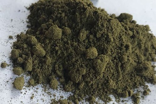 Premium Red Hulu / Green Kutai Kratom Powder Blend (125 grams)