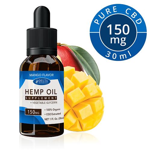 Mango CBD E Liquid - 150mg CBD | 30ml Vape Oil
