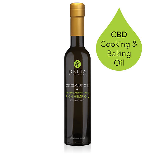 NEW! 200MG CBD COOKING AND BAKING OIL