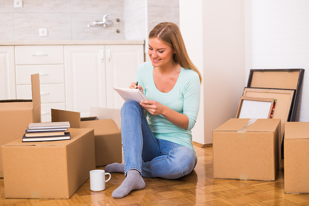 Planning to move into storage units