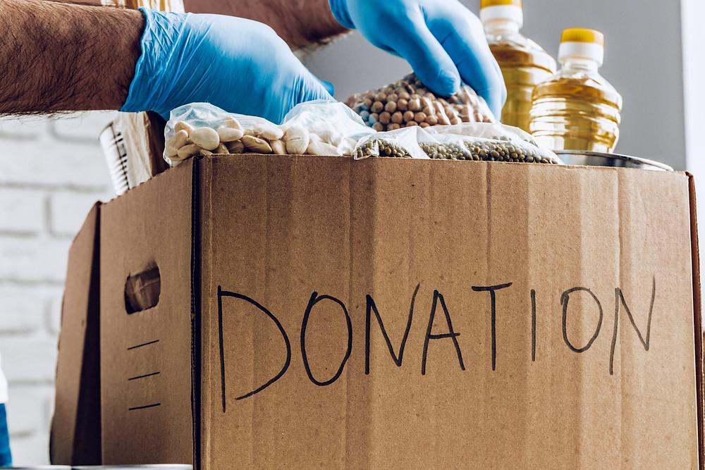 Donation Box, moving house
