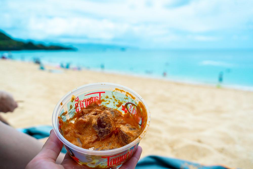 waimea beach poke