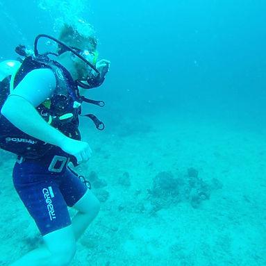 Jon Becker Snorkeling