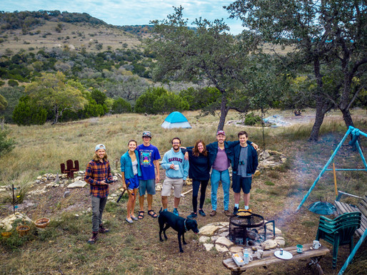 Camping For A Weekend In The Texas Hill Country