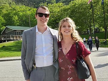 Jasmine Black and Garrett Stevens