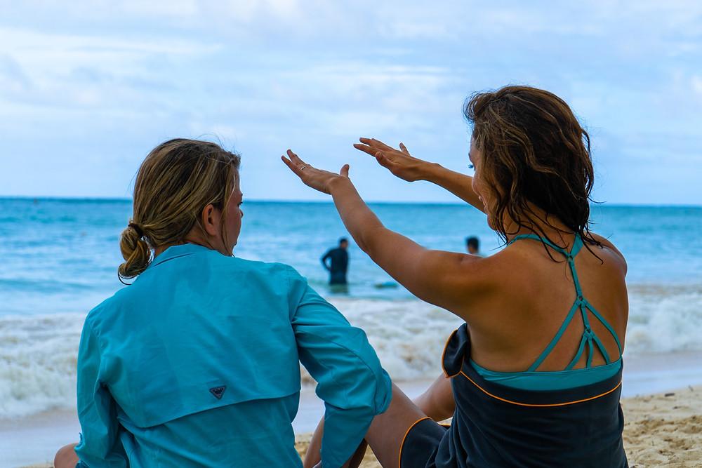 kailua beach and bay