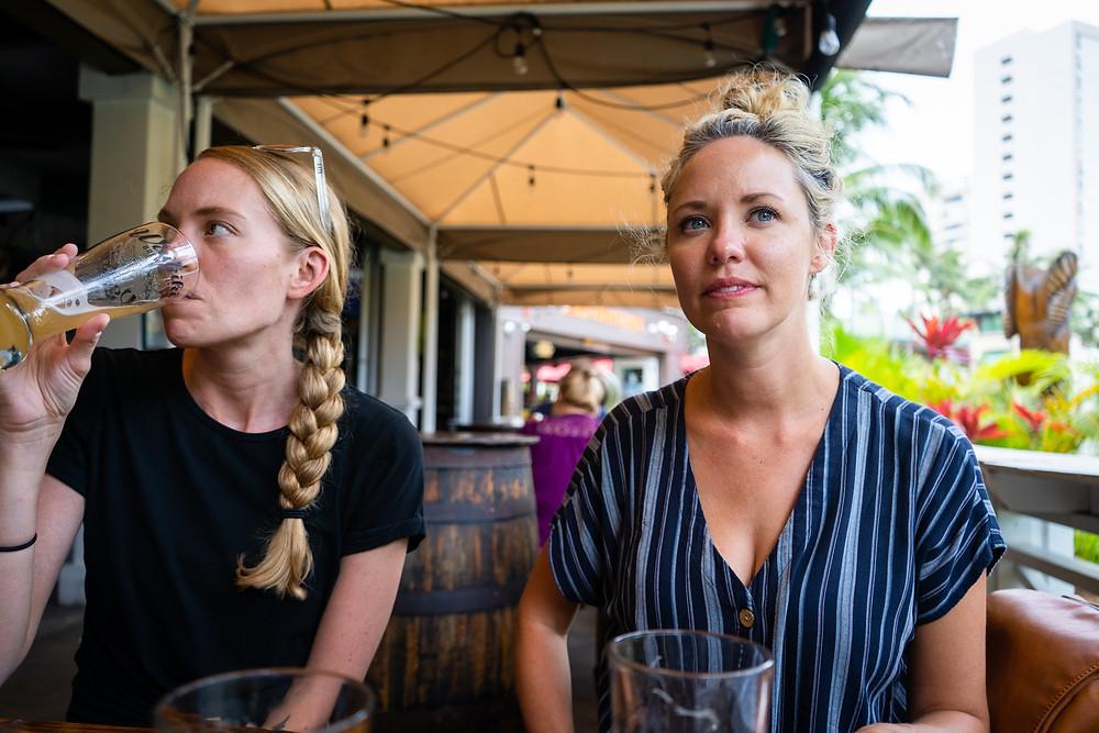 Waikiki Brewing with Brooke and Brandi