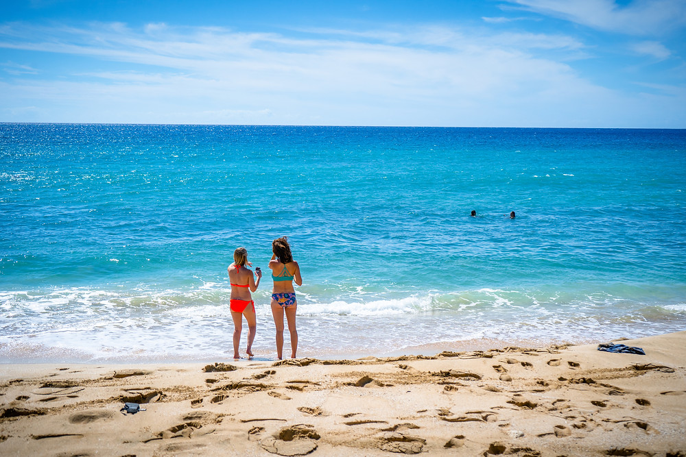 electric beach sand