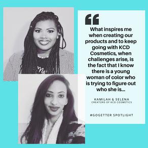 #GoGetter Spotlight: KCD Cosmetics