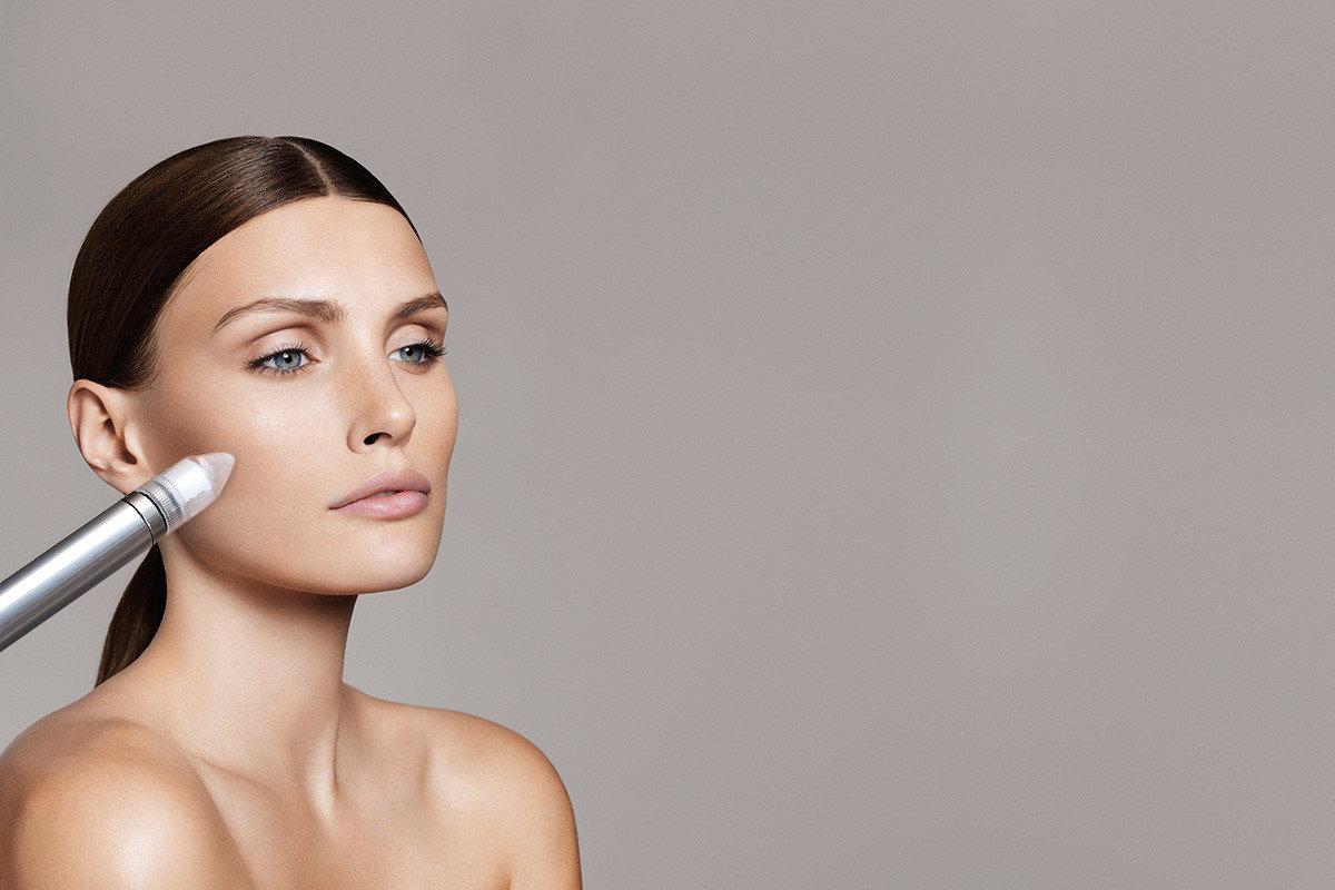 Microdermabrasion & Ultraschall Gesicht