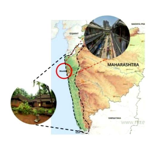 Chawl and Konkani Settlement - Maharashtra