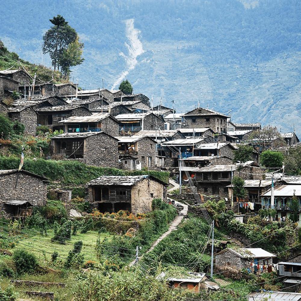 Tamang Settlements Of Nepal