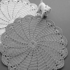 Crochet and lacework