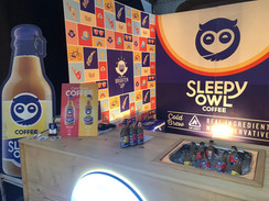 Sleepy Owl Coffee Booth