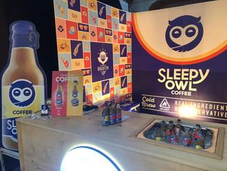 Sleepy Owl Coffee Booth