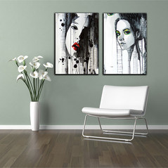Printed Frameless Wall Canvas