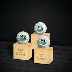 Printed Golf Balls With Stand